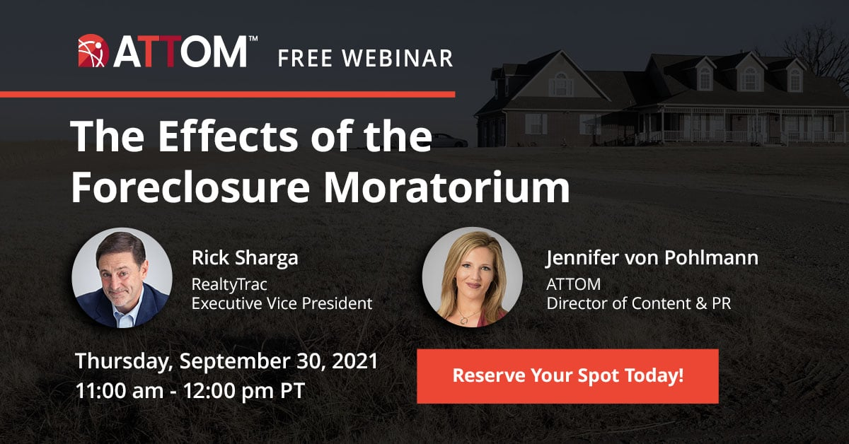 The Effects of the Foreclosure Moratorium